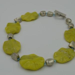 jade wave necklace