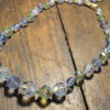 blue green vintage necklace