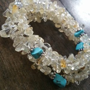CITRINE AND TURQUOISE