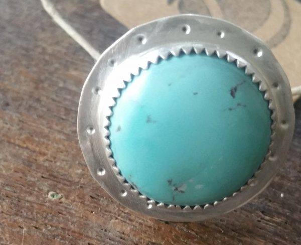 pale blue turquoise ring
