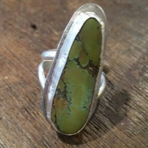 Hubei turquoise ring