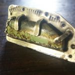 sages rain turquoiose sculpture ring