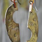 sculptural earring