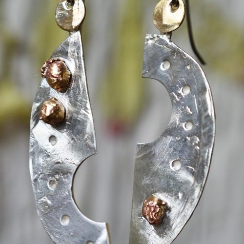 sculptural earring